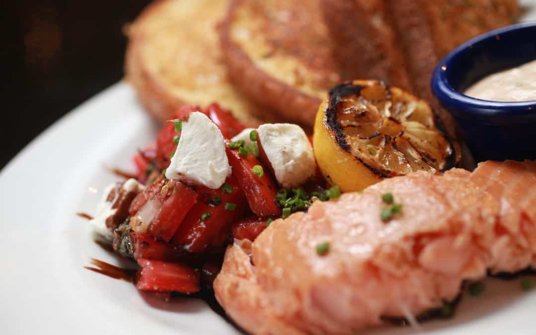 Eleventh Day of Ford's Christmas – Smoked Salmon Bruschetta