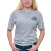Front of Ford's Fish Shack T-Shirt in Light Stone Gray