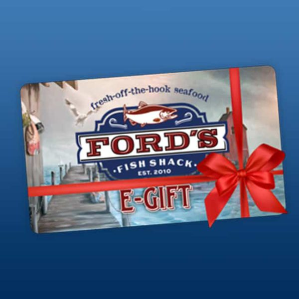 Ford's Fish Shack Virtual Gift Card Sample