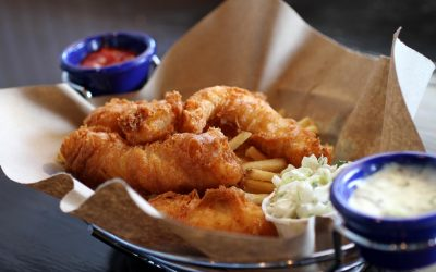 Eighth Day of Ford's Christmas – Fish & Chips
