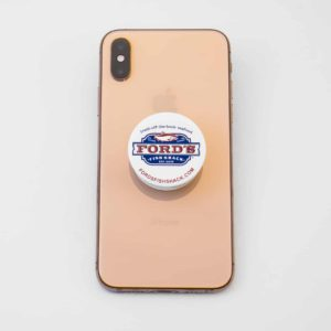 Ford's Fish Shack PopSocket on Phone